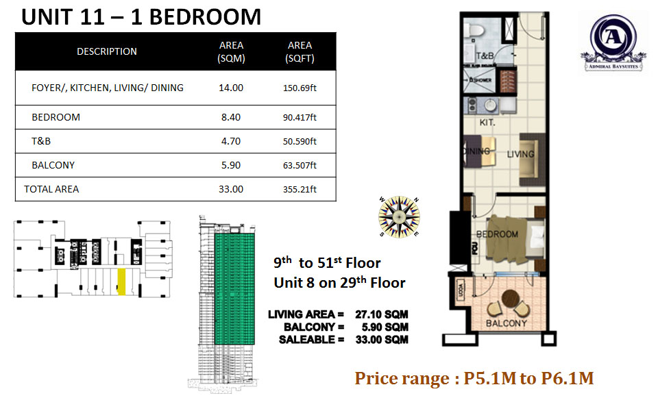UNIT 11-1 BEDROOM(uploaded)