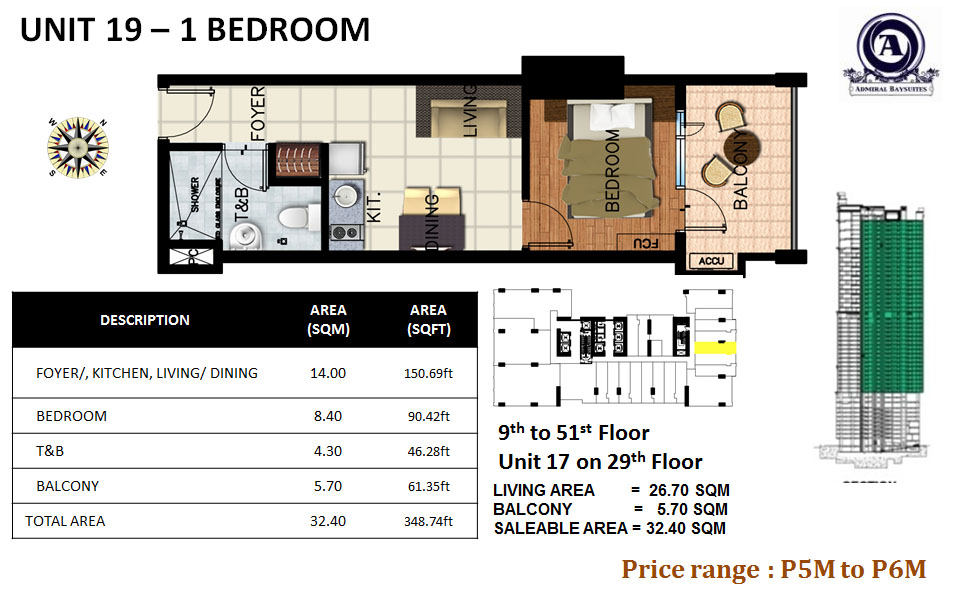 UNIT 19-1 BEDROOM(uploaded)