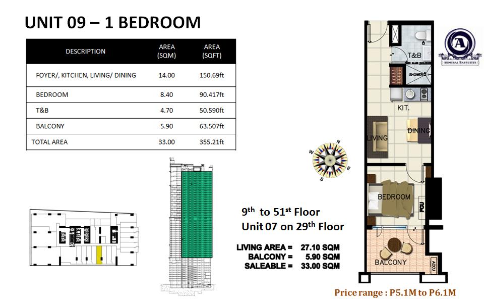 Unit 09 - 1 bedroom(uploaded)