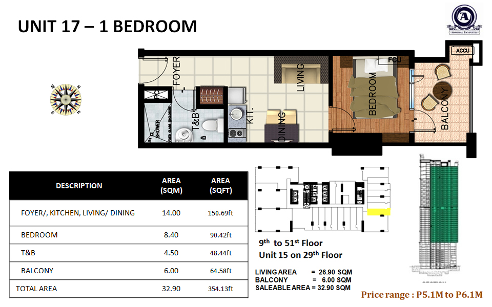 Unit 17 - 1 bedroom(uploaded)